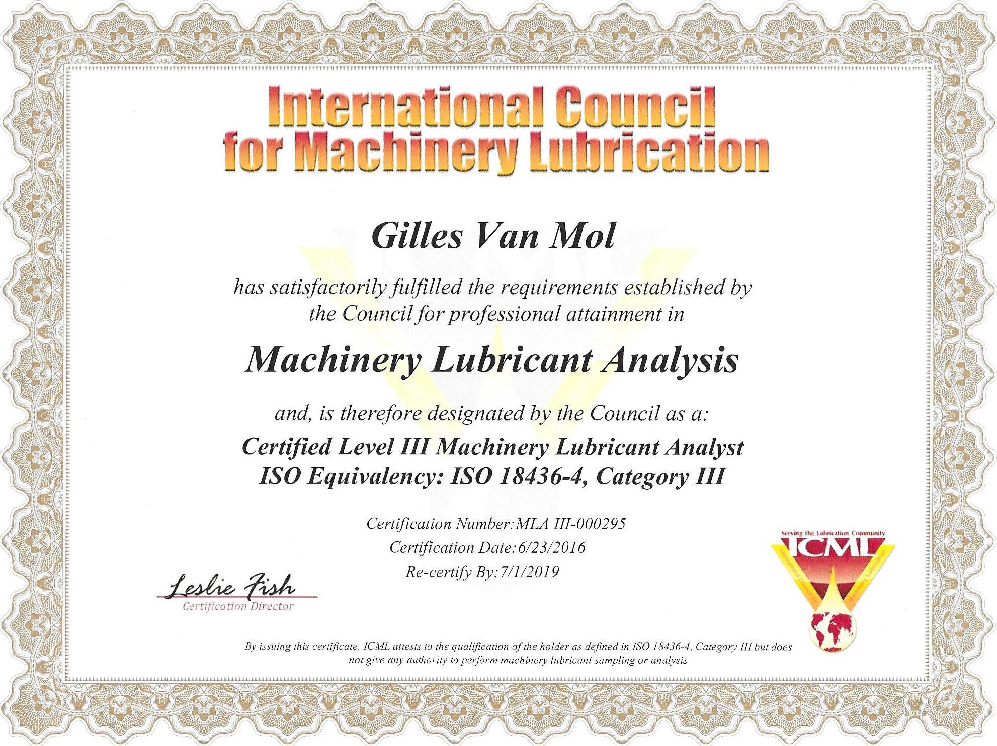 MLA III  ICML
